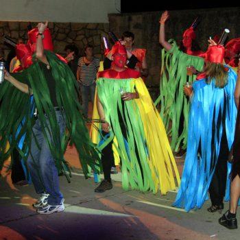 Concurso de disfraces en Tobía