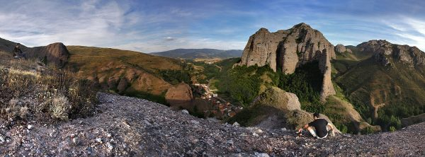 Panorámica de Tobía desde la peña San Esteban
