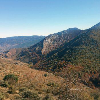 Vistas desde el cerro de las Iruelas.