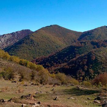 Llegando al cerro de las Iruelas.