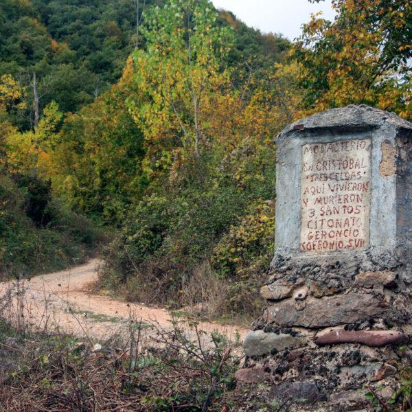 San Cristóbal y el inicio de la pista de La Mata.