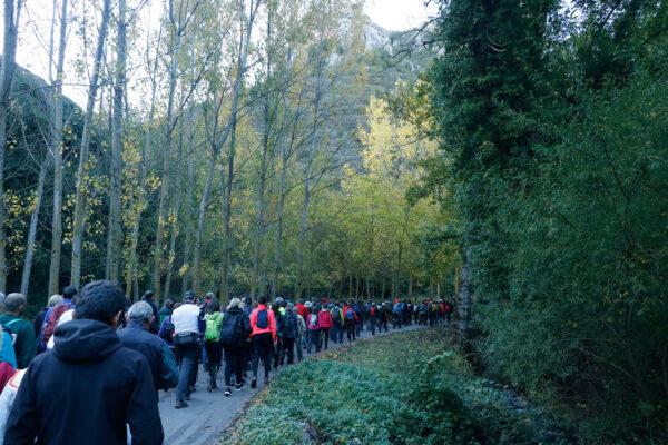 5ª Marcha de Otoño por los Montes de Tobía. Fotografía de Fernando-2