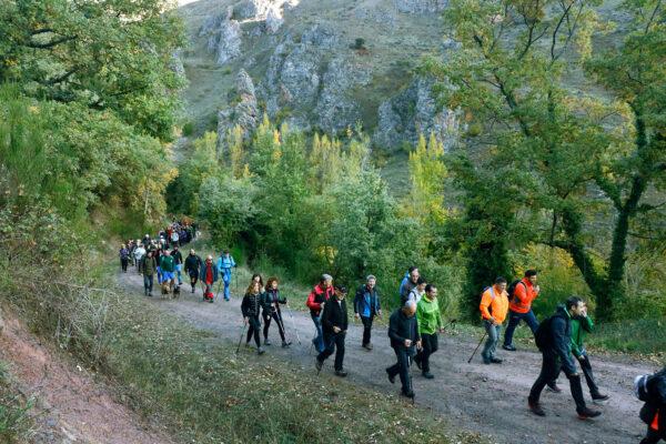 5ª Marcha de Otoño por los Montes de Tobía. Fotografía de Fernando-3