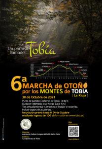 6ª Marcha de Otoño por los Montes de Tobía, 2021