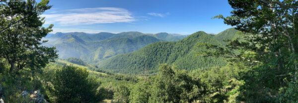 Panorámica desde el cerro